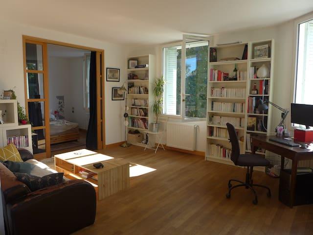 Appartement lumineux, calme, quartier Cathédrale