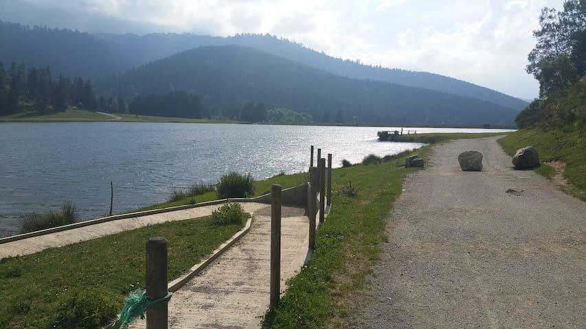 chalet lago de Payolle en Pirineo francès