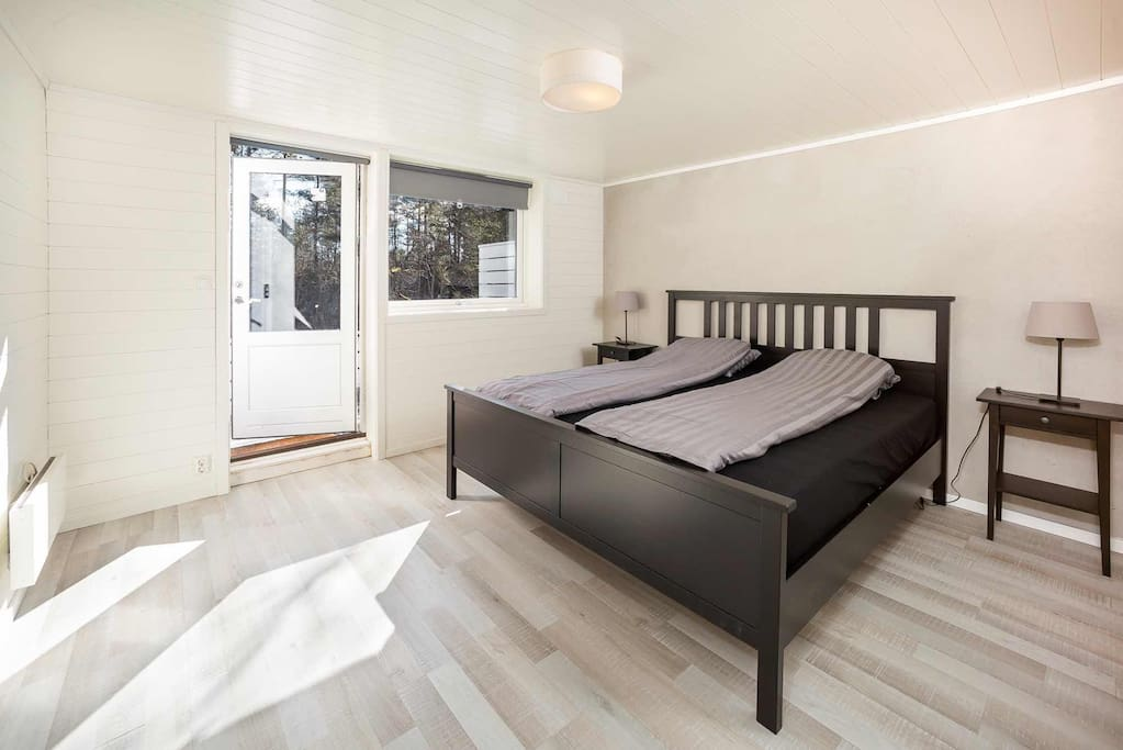King-size double bed