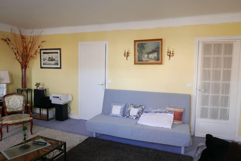 Canapé-lit confort 2 places