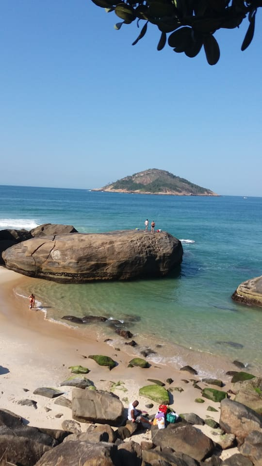 Reserva Beach. Wonderful Place for visit and share with the sea.