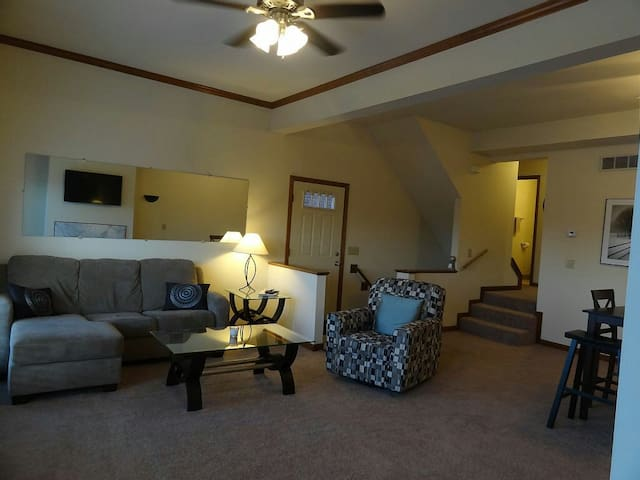 Comfortable, Large Townhouse - Batavia - Apartment