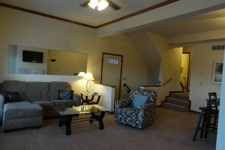 Comfortable, Large Townhouse - Batavia - 公寓