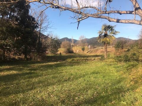 GITE Le Tilleul , udsigt over bjergene