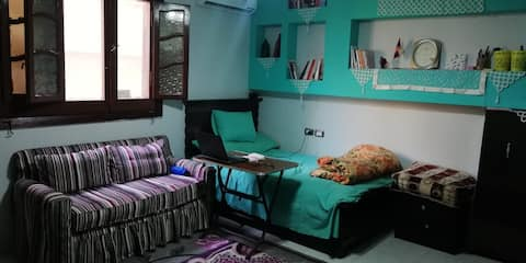 Clean and cool room for women only in family home