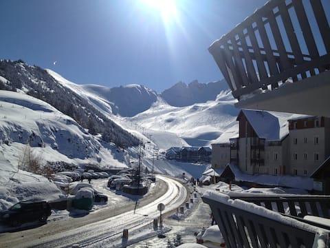 Station de ski Peyragudes Studio 4 pers