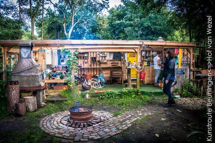 Boscamper beuningen v.a juni  2016 - Beuningen - Campingvogn