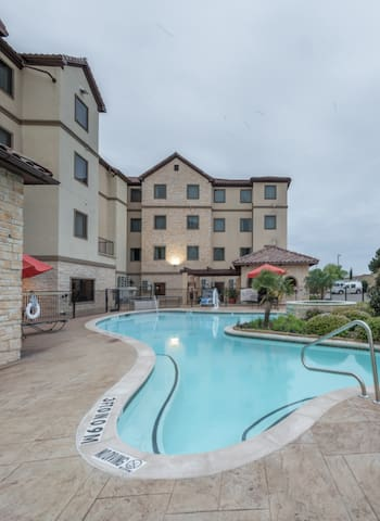 Free Breakfast + Fitness Center Access | Close to the DFW Airport!