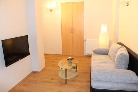 2-pokojowy apartament z tarasem