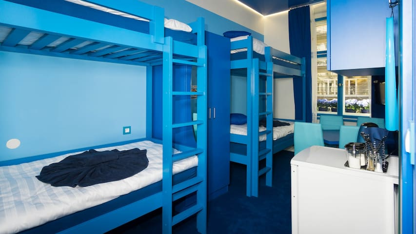 PRIVATE BLUE ROOM IN CITY CENTRE/AIR-CONDITION