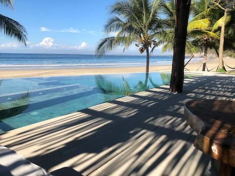 Dream Beachfront Home on private 200 acres of land