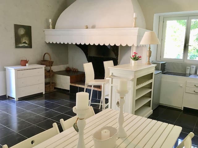 Cosy apartment with terrace - Wine estate