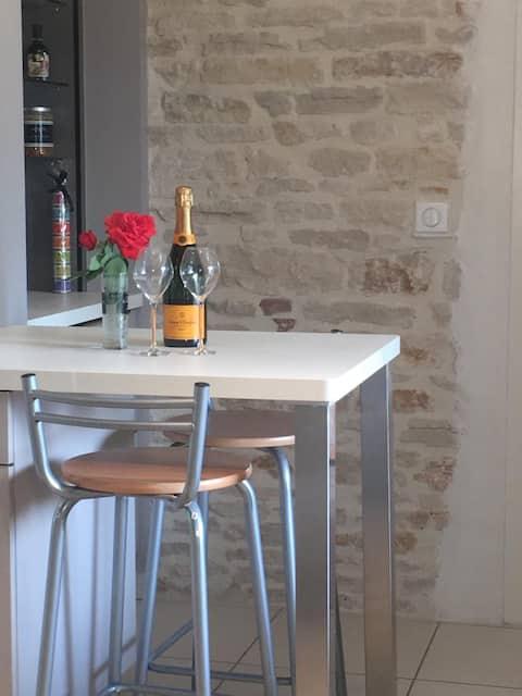 Maison de village en Bourgogne Sud