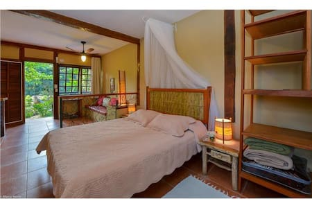 Em nosso flat você terá roupa de cama e banho