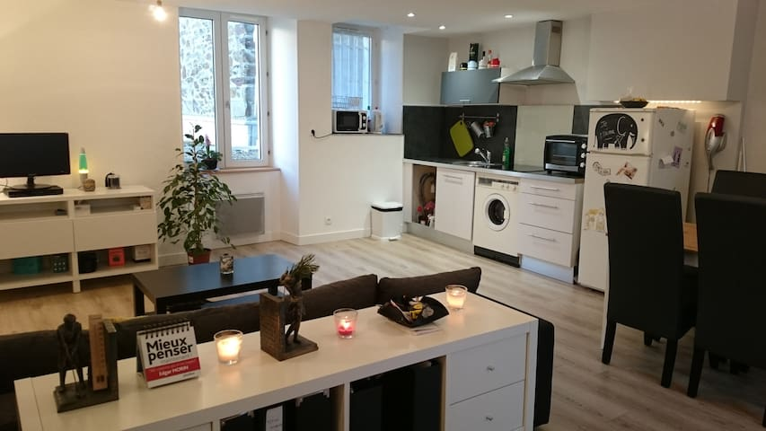 Appartement Cosy 48m² avec balcon - Granville - Apartmen