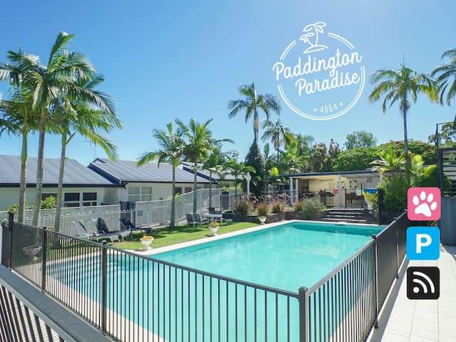 Paddington Paradise 4km from city - quaint & quiet