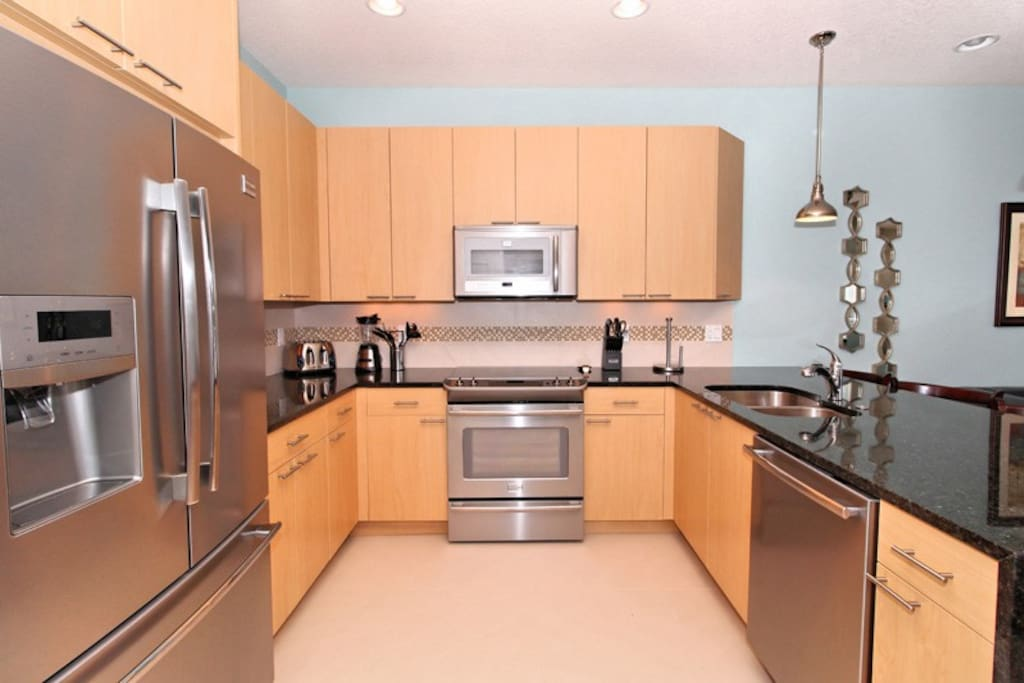 02 Kitchen of 3 Bed Serenity Townhome with Pool