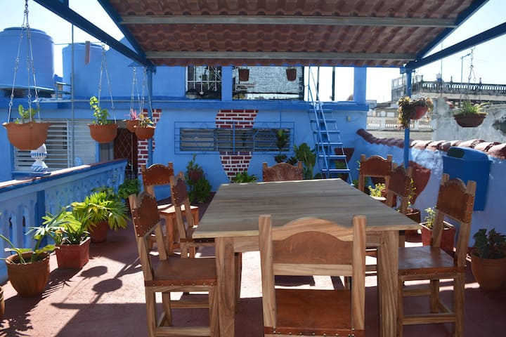 """""""Los Martínez"""" Hostal. Room # 1."""