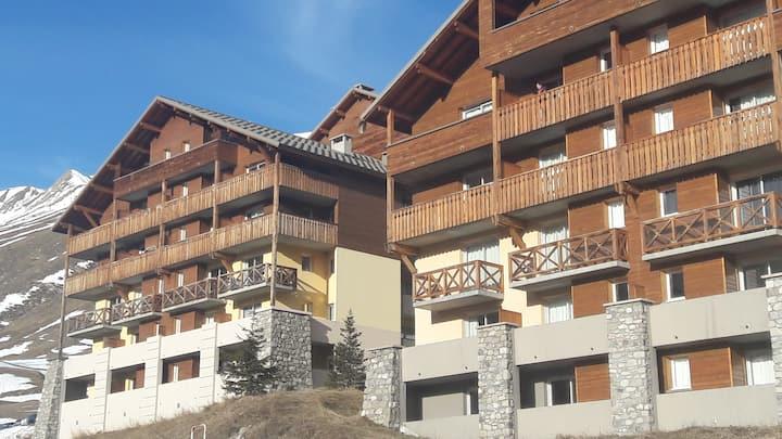 Appartement 36m2, 4/5 personnes, Balcons du Soleil