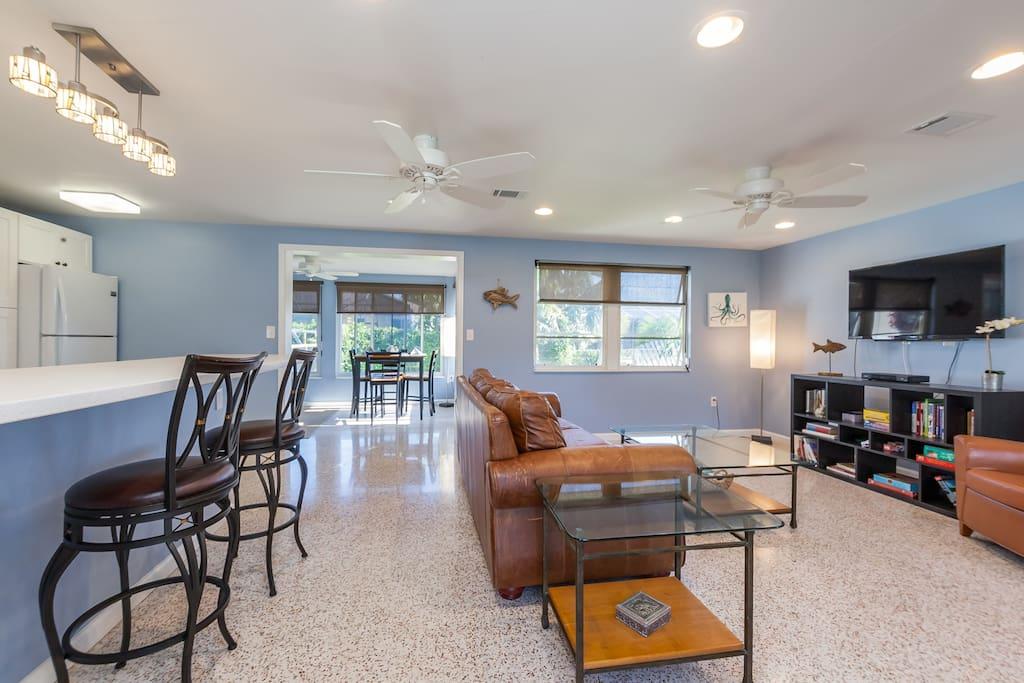 Open Floor Plan with Functional Living Space