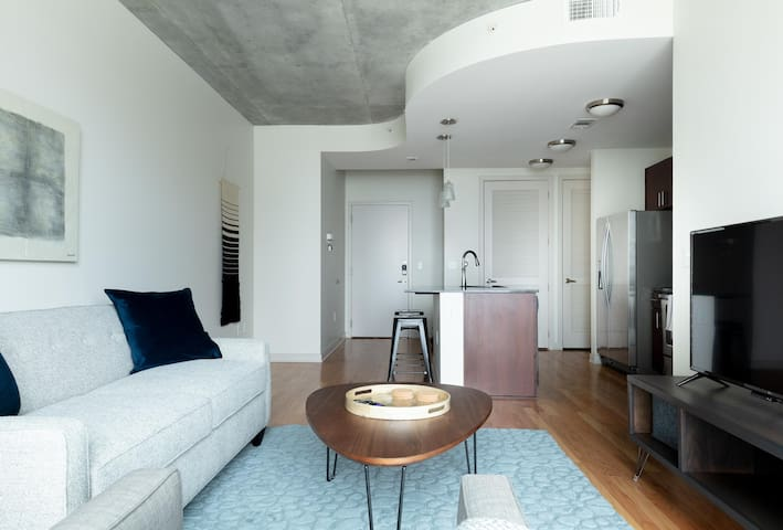 Spotless 1BR w/ WiFi in Downtown Houston