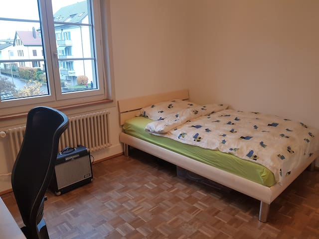 ruhige Wohnung nähe Zürich