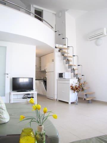 4-room family apartment by the sea D-9 - Stara Novalja - Wohnung