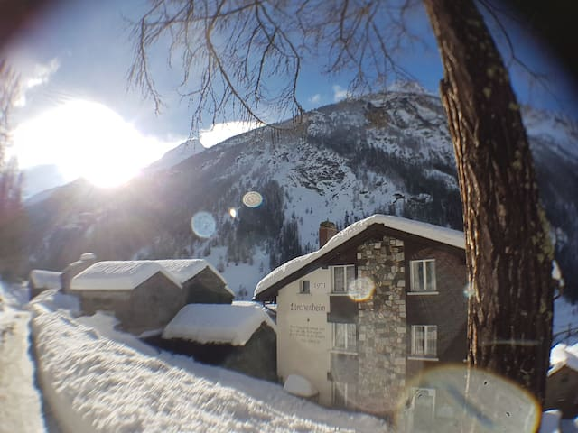 Hot price near Saas-Fee & Zermatt for 2-4 guests❤