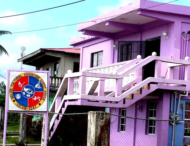 Belize Cultural Adventure GuestHouse -  Candy Room - Camalote - Domek gościnny