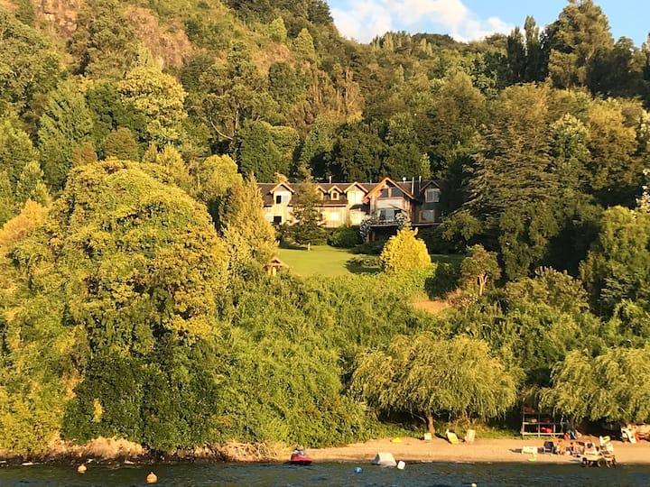Casa de veraneo  lago Calafquen