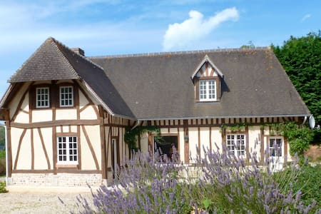 Belle maison de 12 personnes sur la côte normande - Hus