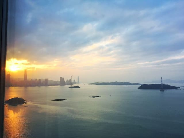 Invincible sea view apartment - Xiamen - Servicelägenhet