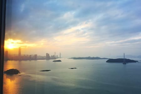 眺望鼓浪屿海景精装公寓Sea view apartment overlooking Gulangyu - Xiamen - Apartemen berlayanan