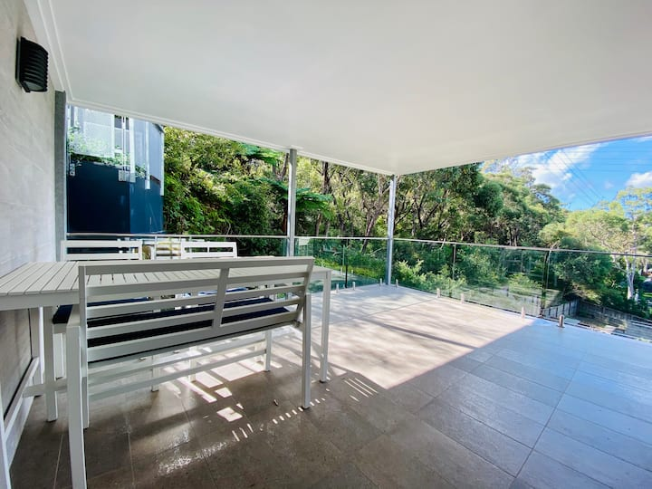 Brand new modern house with stunning view