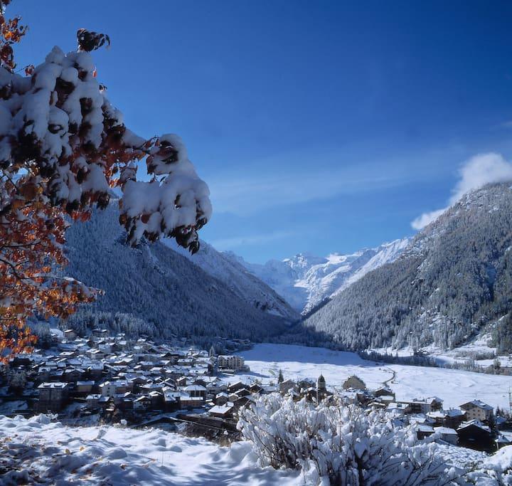Cogne in inverno