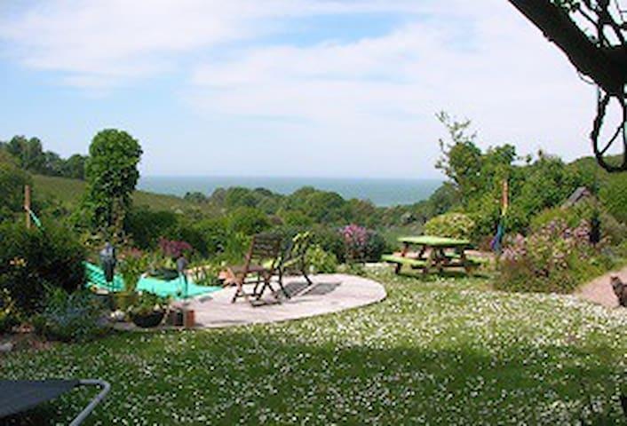 vue sur mer du jardin