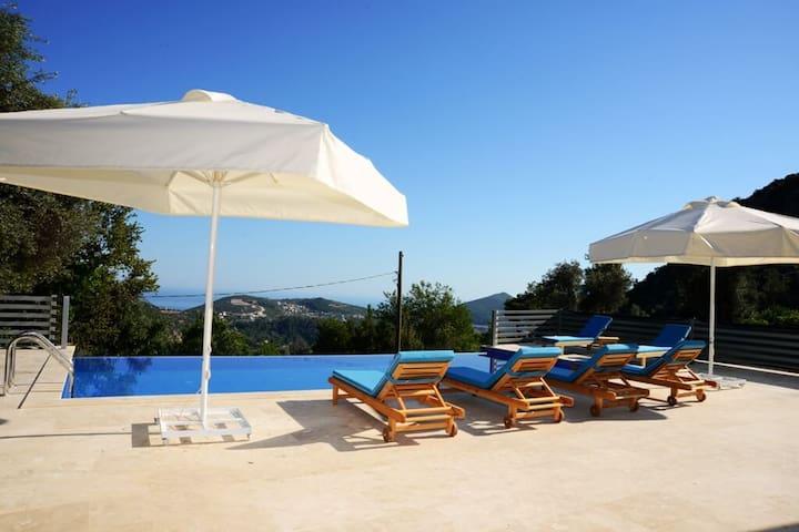TK456-Kalkan İslamlar 2 odalı havuzlu Villa - Kaş - Villa