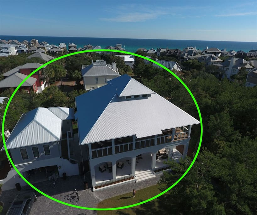 Beautiful Pinecrest home in Inlet Beach