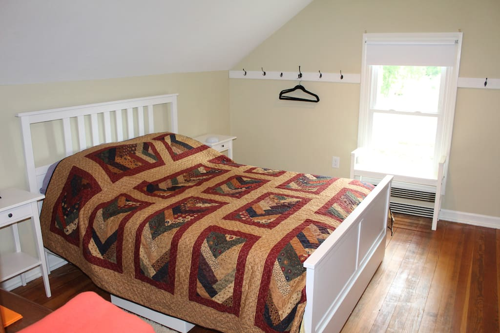 New mattresses, Old quilts