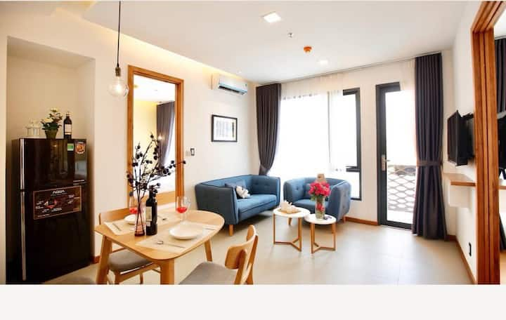 Cozy Two Bedroom (2WC) #3A at Thao Dien with Pool