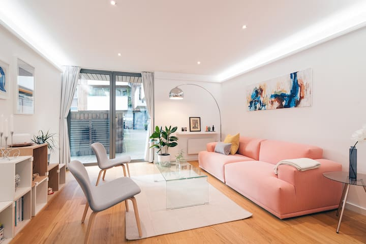 Modern room next to tube station - London - Apartment