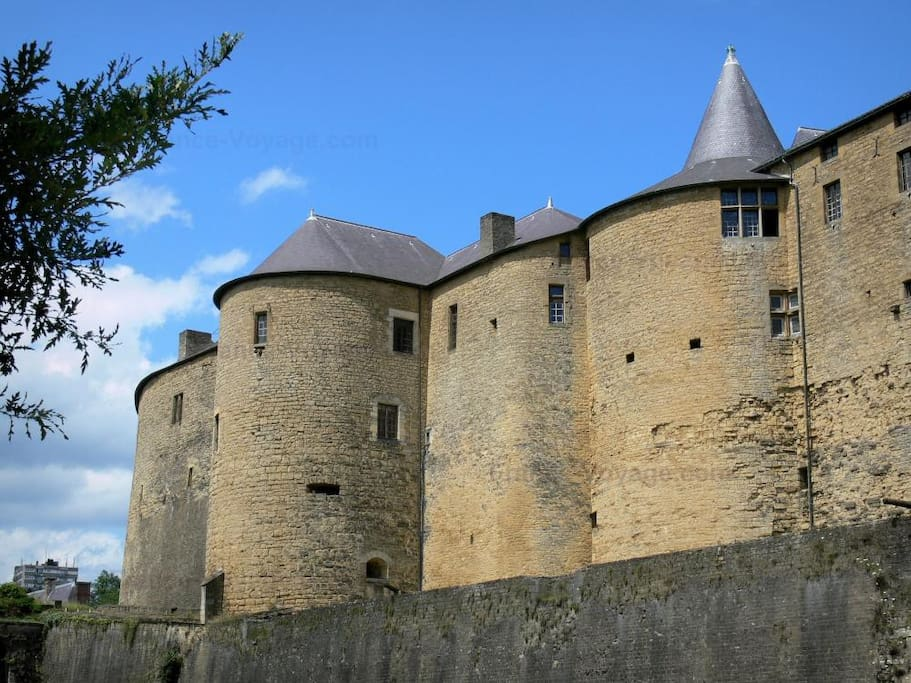 Sedan : Le chateau fort