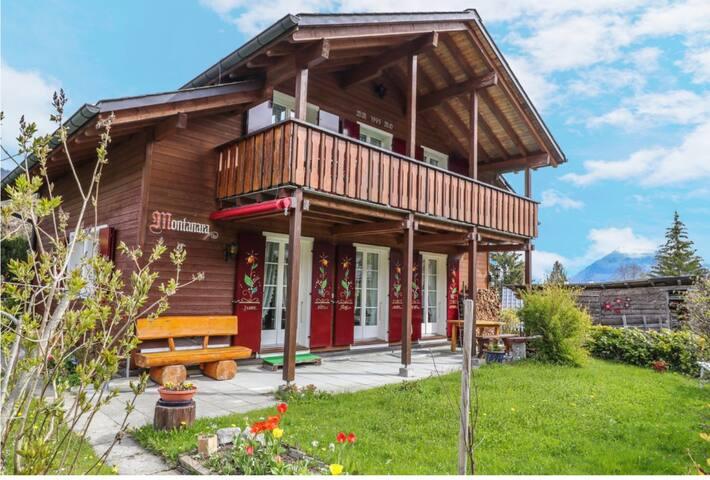 Wunderschöne Ferienwohnung im Herzen der Schweiz.