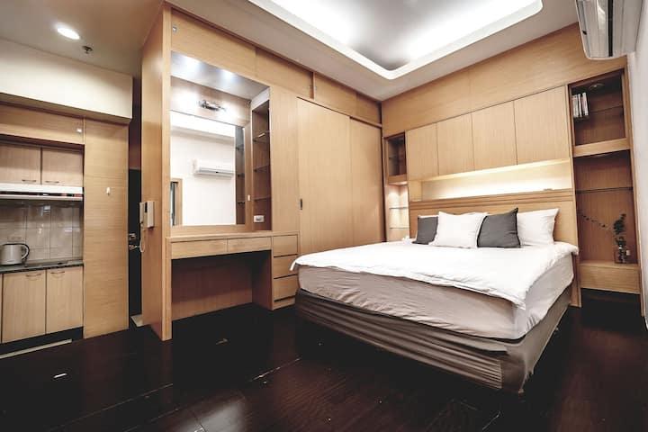 Relaxing MRT Ximen 6exit 3min 2~3P Room 西門捷運