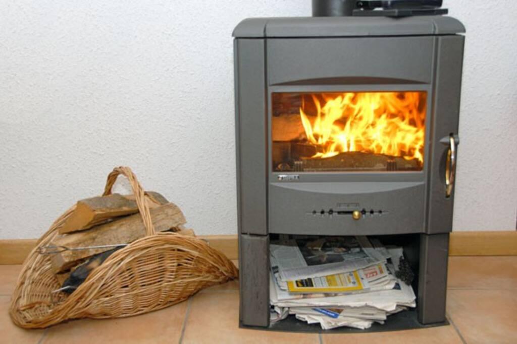 Wood Burner Living Area