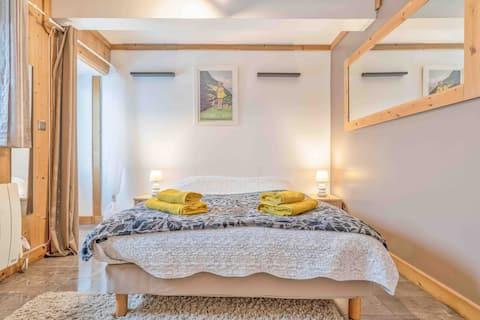 yatak odası ve banyo