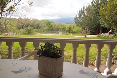 Casa de campo con chimenea yPiscina - Jarandilla