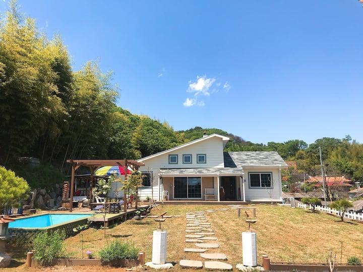 고니 하우스 #독채펜션, 야외 수영장+ 바베큐