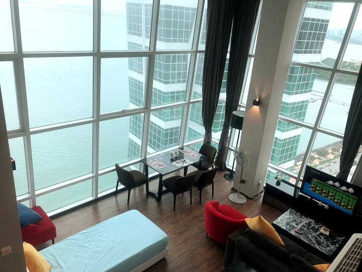 Seaview Waterfront Maritime-Suite 劲爆海景套房 Lv 21