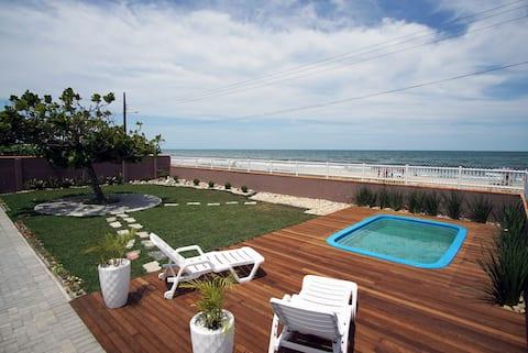 Casa A.Mar -  Pé na areia, piscina e tranquilidade